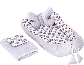 4in1 nest set- grey owls