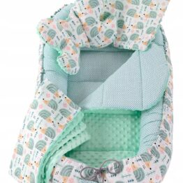 5in1 Baby Nest Set- mint hedgehog