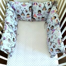 Premium pillow bumper- Indian girl