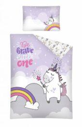 Toddler Bedding Set- brave unicorn