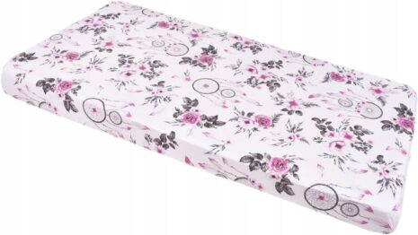 100% cotton cot sheet- pink dream catchers- 2 sizes available