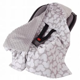 Car seat blanket- mickey