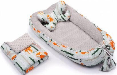 4in1 nest set- grey foxes