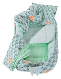 5in1 Baby Nest Set- mint forest
