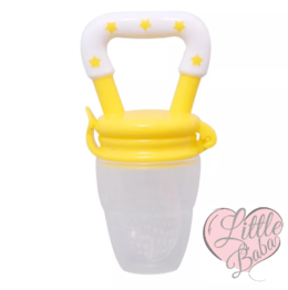 Baby fruit pacifier- yellow
