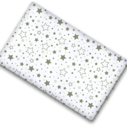 100% cotton cot sheet- mix stars- 2 sizes available