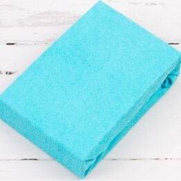 Terry Cot sheet/turquoise