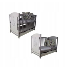 "Cot ""White/Grey Giraffe"""
