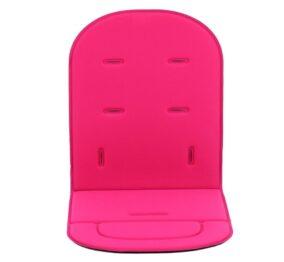Buggy seat pad- pink