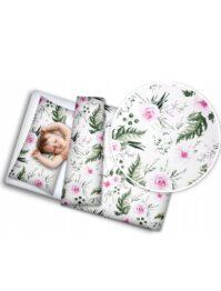 Toddler Bedding Set- pink garden