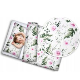 Toddler Bedding Set- pink garden