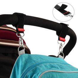 Stroller/buggy hooks