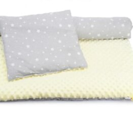 Toddler Minky Bedding Set- ecru/stars