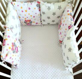 Premium pillow bumper- star fairy