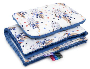 Minky blanket set-size 75x55cm/dream catchers