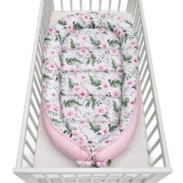 Baby Nest XXL- pink garden