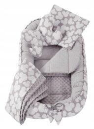 5in1 Baby Nest Set- grey mickey