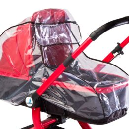 Carrycot/buggy rain cover