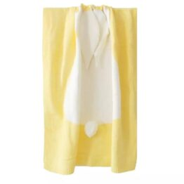 Bunny Blankets- sunshine yellow