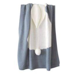 Bunny Blankets- grey dust