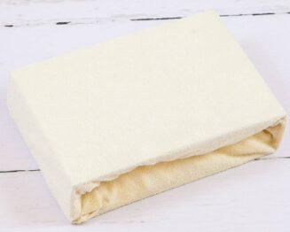 Terry Cot sheet/cream