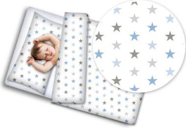 Toddler Bedding Set- blue stars
