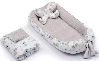4in1 nest set- grey teddies