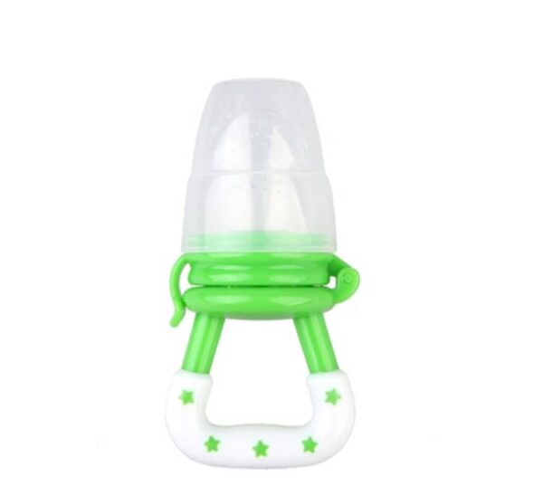 Baby fruit pacifier- green
