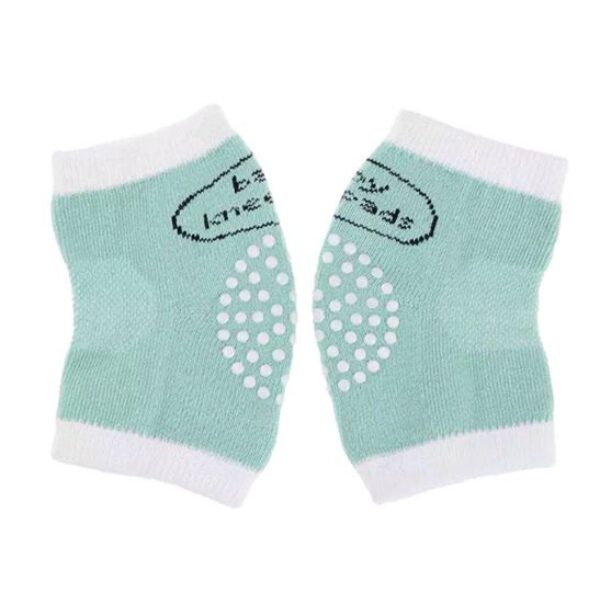 Knee protection pad- mint/white