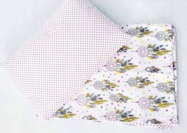 Toddler Bedding Set- pink dream catchers