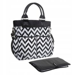 Buggy changing bag- black&white
