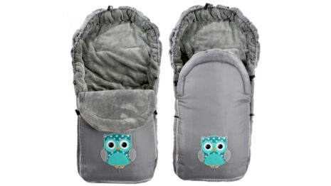 Footmuff- grey owl