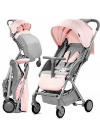 Kinderkraft Pilot Stroller grey/pink
