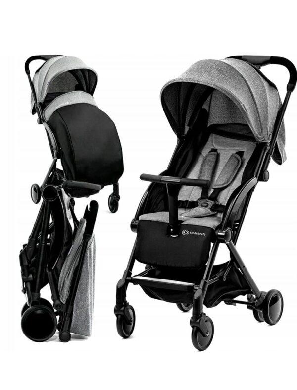 Kinderkraft Pilot Stroller grey/black