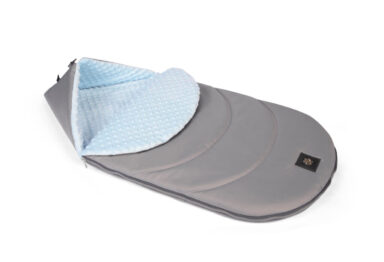 Footmuff grey/blue