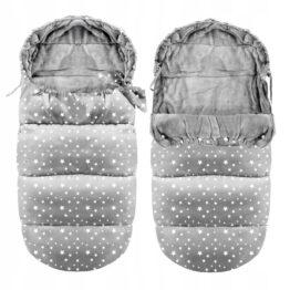 Winter footmuff - ice stars