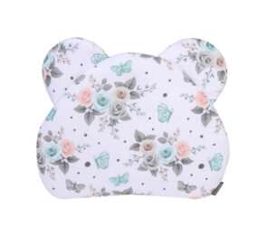 Premium teddy pillow- small roses