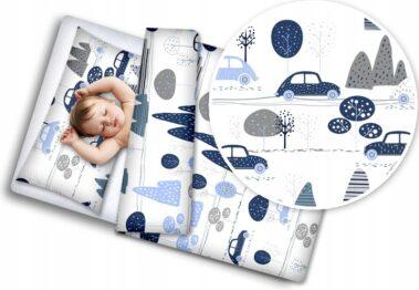 Toddler Bedding Set- blue cars