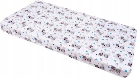 100% cotton cot sheet- blue teddies- 2 sizes available