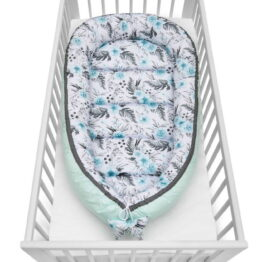 Baby Nest XXL- mint garden