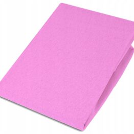 Jersey Cot bed sheet/pink