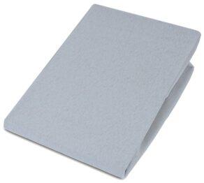 Jersey Cot bed sheet/grey