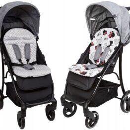 Buggy/car seat insert-grey mickey